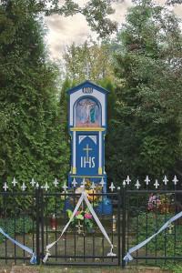 Kapliczka z XIX w. na Ostrowie