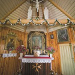 Presbiterium kościóła pw. Matki Boskiej Fatimskiej w Pawełkach