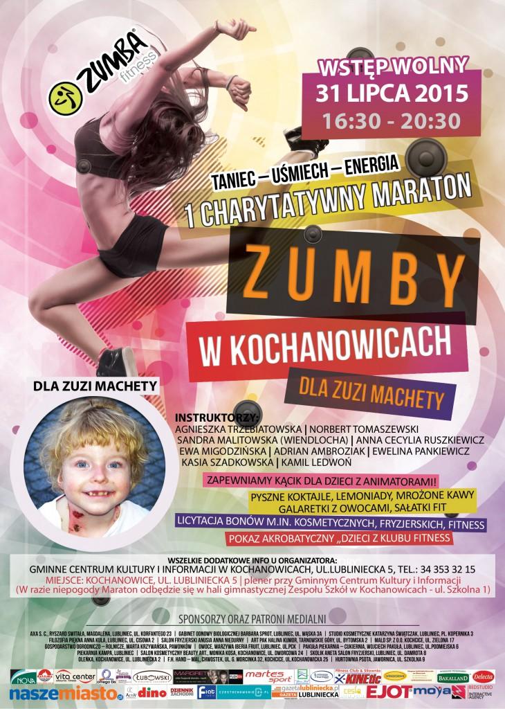 Plakat Maraton Zumby