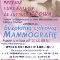 featured image Bezpłatne badania mammograficzne