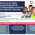 featured image Rekrutacja dla absolwentów szkół podstawowych oraz gimnazjów powiatu Lublinieckiego