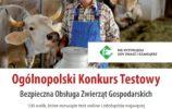 plakat ogólnopolski konkurs testowy