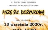 Dożynki 2020