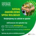 featured image Zakończenie spisu rolnego