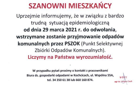 PSZOK 29.03